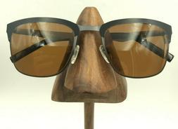 Zenni 1127021 Black Gunmetal Square Sunglasses FRAMES ONLY
