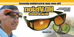 2 Pair Set Driving Night Vision Sunglasses Polarized Night S