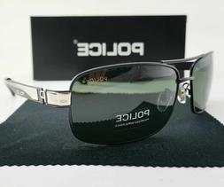 2019 Men&Women Polarized Sunglasses Unisex Metal Police Glas