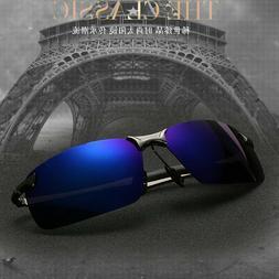 2019 Mens TAC HD Polarized Sunglasses Driving Aviator Glasse