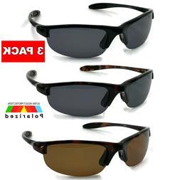 3 Pack - 2020 Polarized Men's Sunglasses Fishing Golf Drivin