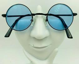 Zenni 450021 Black Metal Round Sunglasses FRAMES ONLY