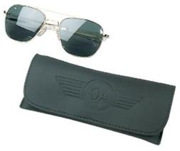 55mm Original Pilot Polarized Sunglasses by AO Eyewear