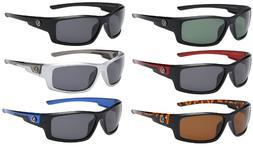 6 Pack Men's Polarized Sport Sunglasses Wrap Around New - Ni