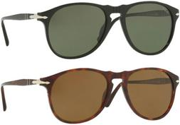 Persol 649 Series Polarized Men's Sunglasses w/ Tempered Gla