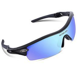 RIVBOS 805 TR 90 Frame Polarized Sports Sunglasses Sun Glass