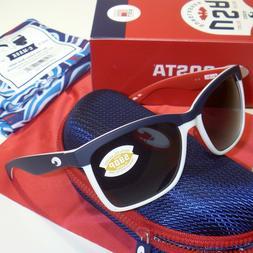 NEW Costa Del Mar Anaa Sunglasses – USA Red White Blue –