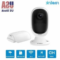 REOLINK Argus 2 | Outdoor Wireless Security Camera, Recharge