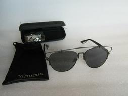 Authentic DUDUMA Black / Black Polarized Sunglasses BRAND NE