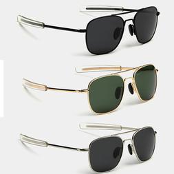 Aviator Sunglasses Premium Military Pilot Ultraviolet Mens P