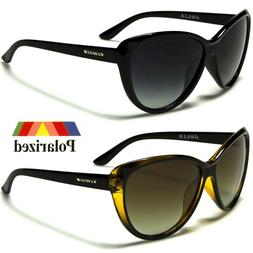 Black Cat Eye Polarized Sunglasses Retro Classic Vintage Des