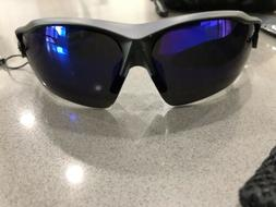 Hulislem Blade Sport 2 Polarized Sunglasses Black/Blue FRAME
