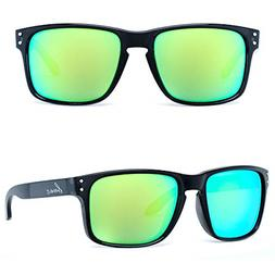 Bnus italy made unisex polarized sunglasses for men womens s