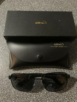 Carfia CA5211 Polarized Sunglasses Black 62mm Italy NEW IN B
