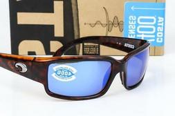 Costa Del Mar Caballito Sunglasses, Tortoise, Blue Mirror 58