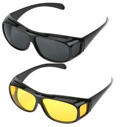 Car Driving Glasses Night Vision Goggles Polarized Sunglasse
