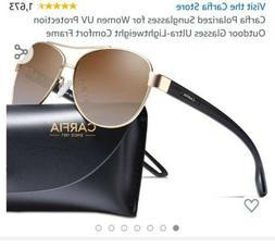 Carfia Carfia Polarized Sunglasses for Women UV Protection