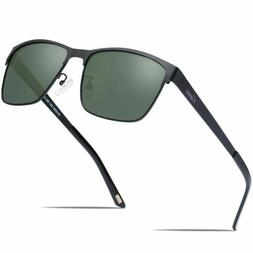 Carfia Men'S Sunglasses Polarized Uv400 Protection For Dri