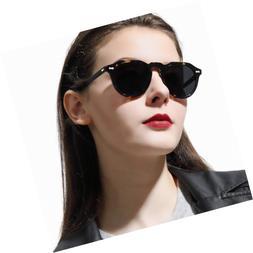 Carfia Retro Polarized Sunglasses for Women Driving Glasses