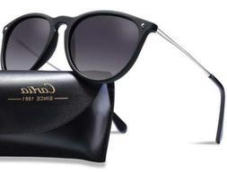Carfia Vintage Polarised Mens Womens Sunglasses UV400 Protec