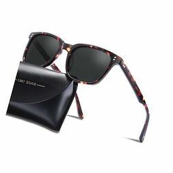 Carfia Chic Retro Polarized Womens Sunglasses UV400 Protecti