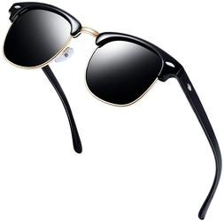 Classic Metal Brand Unisex Polarized Mirrored Retro Sunglass