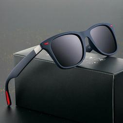 Classic Polarized Sunglasses Men Women Driving Square Frame