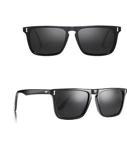 Carfia Classic Rectangular Mens Sunglasses Polarized UV for