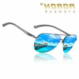 Classic Retro Polarized Square Sunglasses Men Women Unisex D