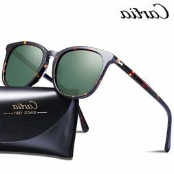 Carfia Classic Retro Sunglasses Women Men Fashion Oval Polar