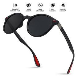 Classic Vintage Round Polarized Sunglasses for Men Women UV4