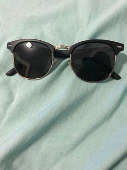 Aevogue Clubmaster Style Sunglasses