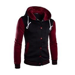 Cotton Coats for Men,Realdo Men's Warm Outwear Jacket Autumn