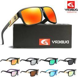 DUBERY Men's Polarized Sunglasses Outdoor Driving Unisex Wom