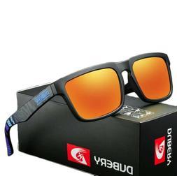 DUBERY Polarized Sunglasses Mens Sports Running Fishing Golf
