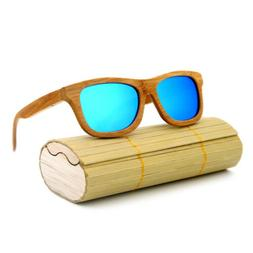 2019 unisex eco friendly bamboo wood frame