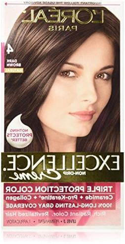 L'Oreal Excellence Triple Protection Color Creme, Dark Brown