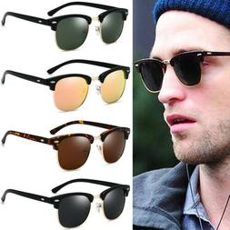 Fashion Retro Polarized Shades Outdoor Men Women Retro Round