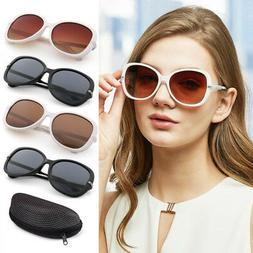 Oversize Polarized Sunglasses For Women Girls Lady Driving C