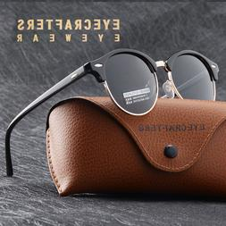 Fashion Vintage UV400 Outdoor Shades Women Mens Retro Round