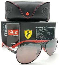 Ferrari RAY-BAN Sunglasses RB 8313-M F002/H2 Black Red-Carbo