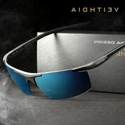VEITHDIA Aluminum Magnesium <font><b>Sunglasses</b></font> <