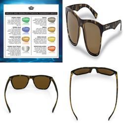 Fowey Polarized Sunglasses FREE SHIPPING TORTOISE FRAMES/AMB