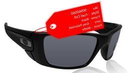 Oakley Men's FuelCell Polarized Sunglasses, Matte Black Fram
