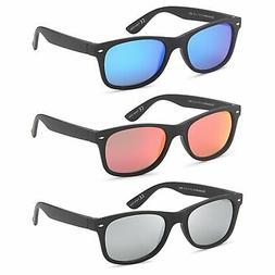 gamma ray polarized uv400 classic style sunglasses