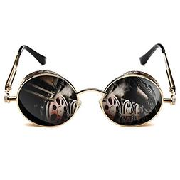 ROCKNIGHT Gothic Steampunk Polarized Sunglasses For Men Wome
