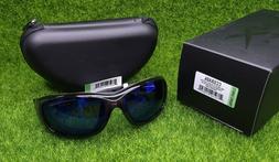 Wiley X Gravity Sunglasses, Polarized Blue Mirror, Black Cry
