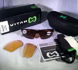 hardtop ultra men s sunglasses maple tort