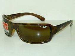 Ray-Ban RB4075 Sunglasses Havana/Crystal Brown Polarized  61