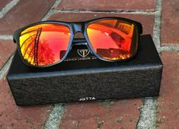 ATTCL ITALY Mens Metal Frame Driving Polarized SUNGLASSES Al